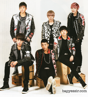 B.A.P in Hallyu Pia (Oct. 2013)