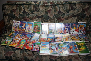 disney VHS Tape Collection #3