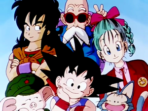 Dragon Ball Group Picture
