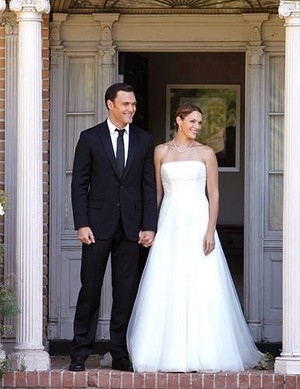 Grace & Rigsby Wedding Photo// The Mentalist 6x03