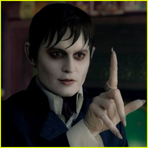 Johnny depp as Barnabas Collins