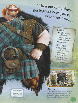 King Fergus (Brave Essential Guide)