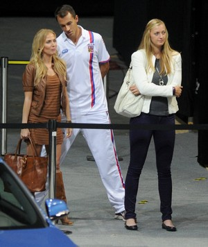 Kvitova is pregnant with Stepanek ?