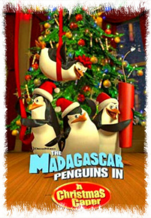 Penguins in A Christmas Caper
