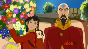 Tenzin and his family