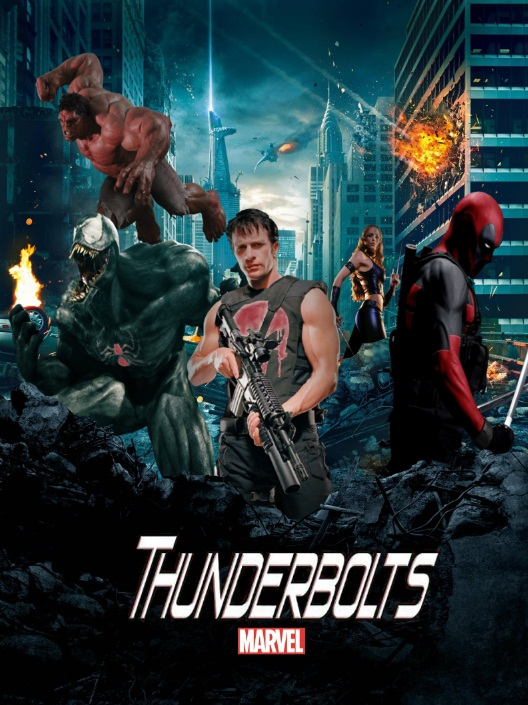 Thunderbolts fan art