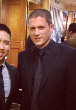 Wentworth Miller spoke at a Human Rights Campaign dinner in Seattle
