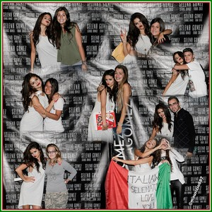 selena gomez,Milan Meet and Greet 2013