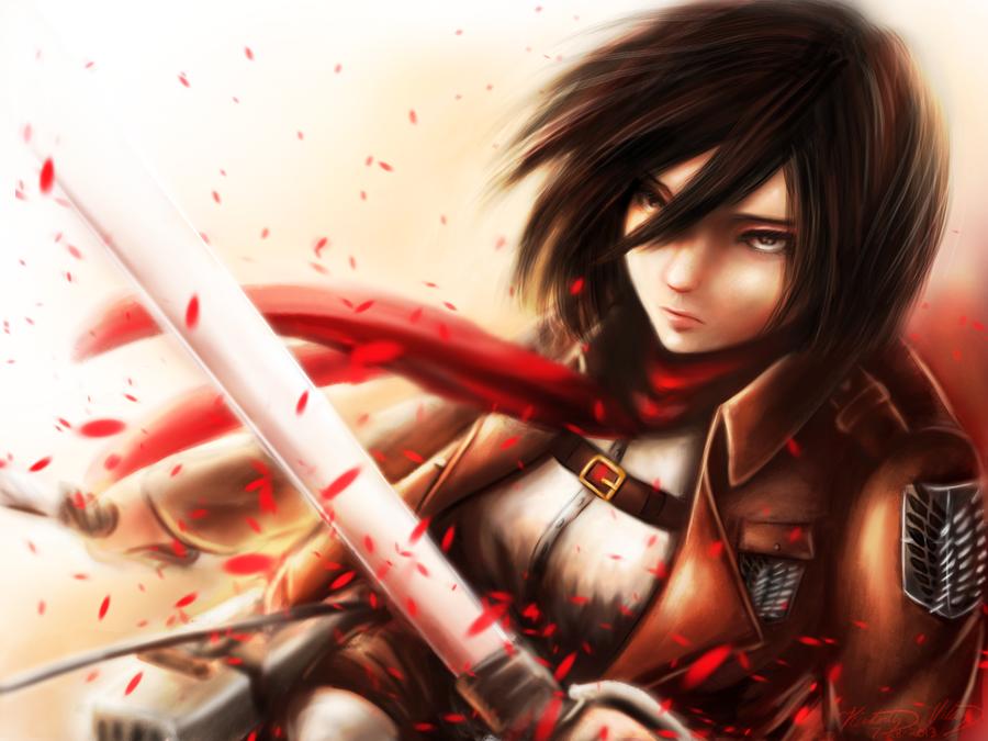 Snk Mikasa Anime Loverz Fan Art 35693533 Fanpop