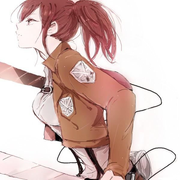 Snk Sasha Shingeki No Kyojin Attack On Titan Fan Art 35681672 Fanpop