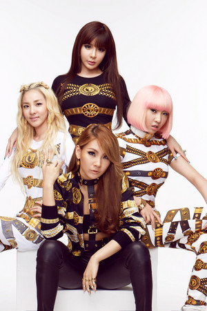 2NE1 for POP Magazine