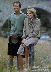 Charles And Diana On Their Honeymoon