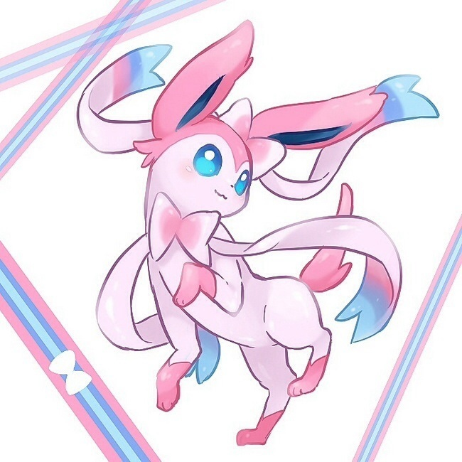 Cute Sylveon Pokemon X And Y Fan Art
