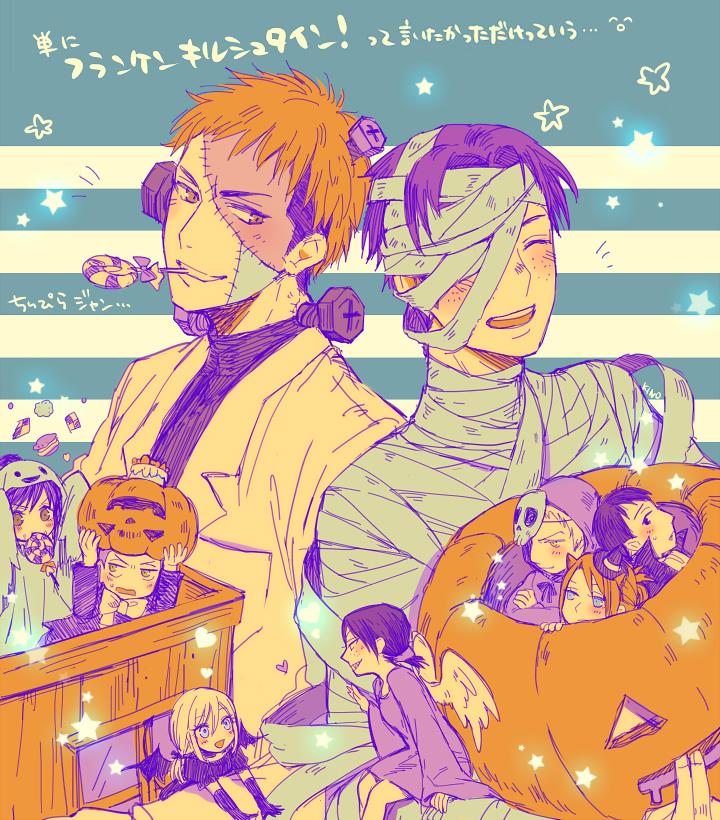 Happy Halloween Shingeki No Kyojin Attack On Titan Fan Art 35651188 Fanpop Page 5