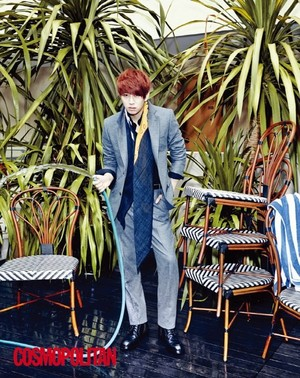 Heechul for 'Cosmopolitan'