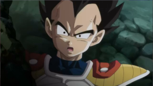 Kid Vegeta in * Battle Of Gods *