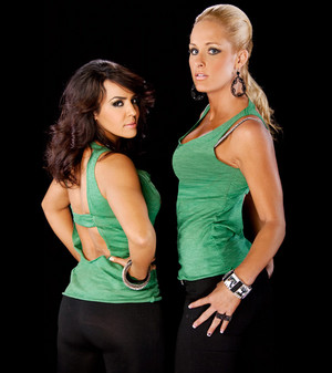 Layla and Michelle McCool