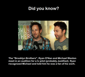 Michael Weston fun facts