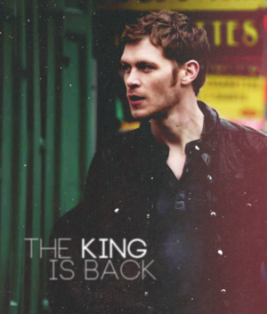 The king is back