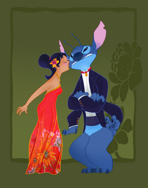 disney prom__lilo and stitch
