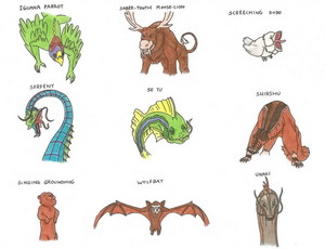Avatar animals