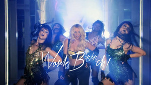Britney Spears Work Bitch World Premiere