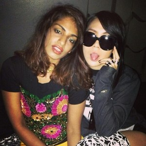 "CL's Instagram Update: ""WE ASIAN BITCHEZZZ""  (130912)"
