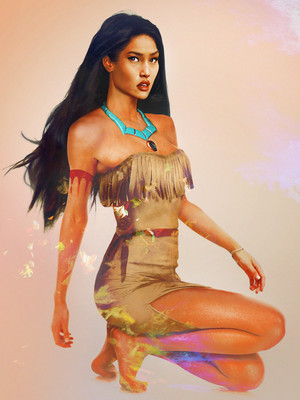 "Pocahontas in ""Real Life"""