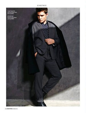 ED WESTWICK for AUGUST MAN MAGAZINE PHOTOSHOOT