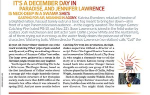 "Entertainment Weekly's ""Catching Fire"" Article"
