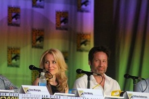 Gillian & David - Comic Con 2013