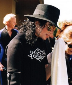 Michael Tour In South Africa Back In 1997