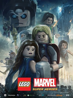 Thor: The Dark World - Lego Poster
