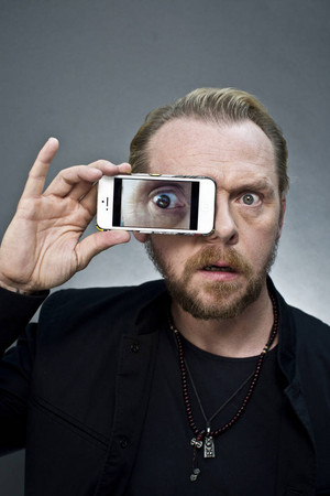 2013 08 28 - লন্ডন - Simon Pegg for ' The Times ' দ্বারা David Bebber