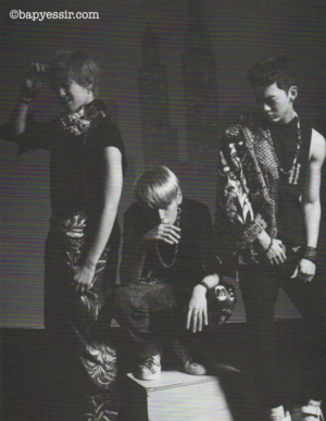 B.A.P in High Cut Japan magazine vol. 2 (Oct. 2013)
