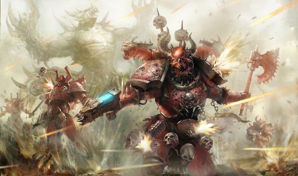 Berserker - Warhammer 40k Khorne Photo  35839262