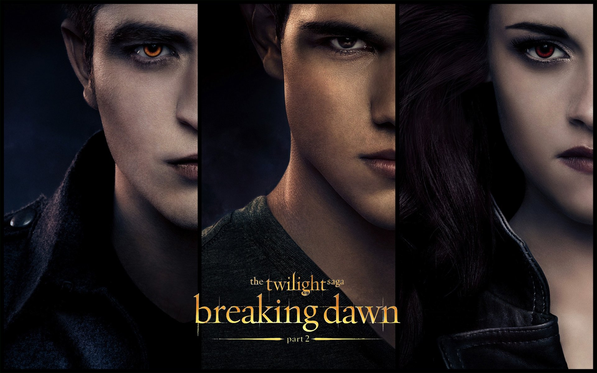 Breaking Dawn, Cullens and Jake wallpaper