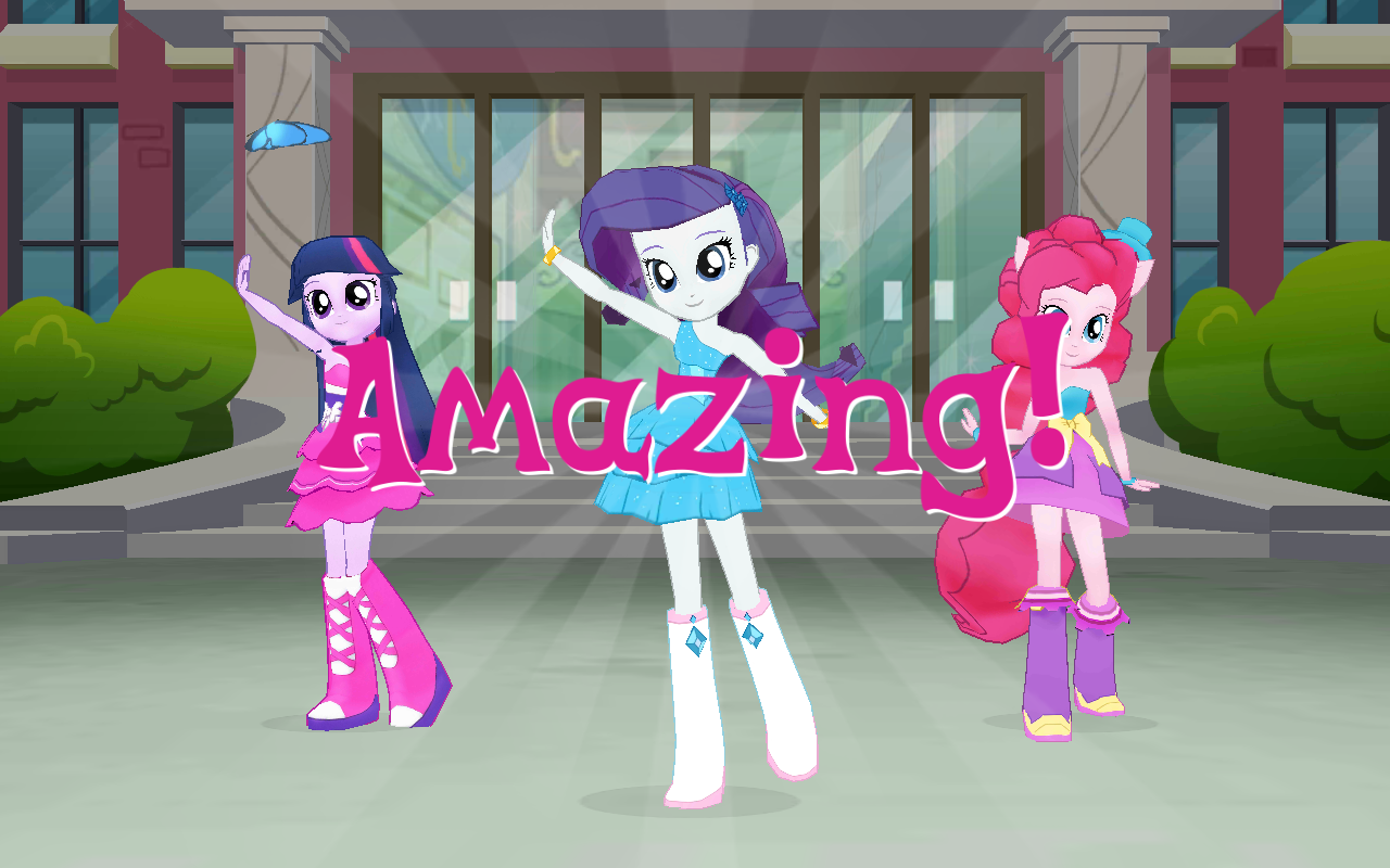 Equestria Girls Game App My Little Pony Friendship Is Magic Foto