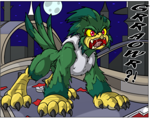 Jet the Werehawk transformation pg. 9