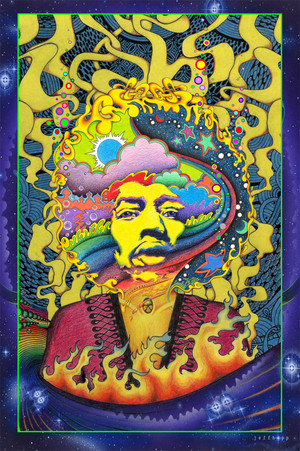 Jimi Hendrix by Jeff Hopp