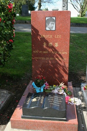 The Gravesite Of Bruce Lee