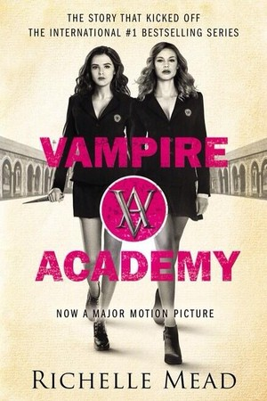 Vampire Academy - the new movie book cover