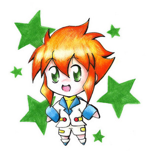 Yu Tendo as Chibi