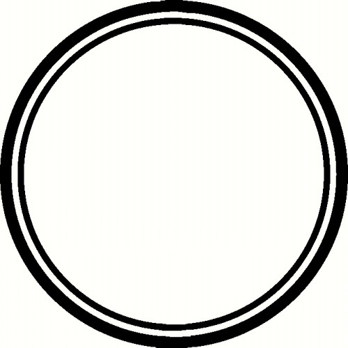 Black Wallpaper Enled Circle