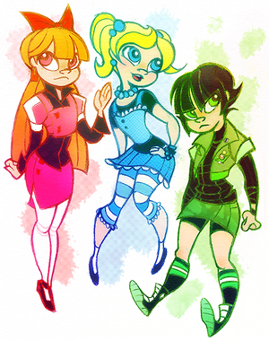 powerpuff girls_doodledump