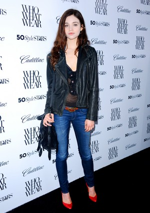 India Eisley at Cadillac's 50 Most Fashionable Women Of 2013 Event