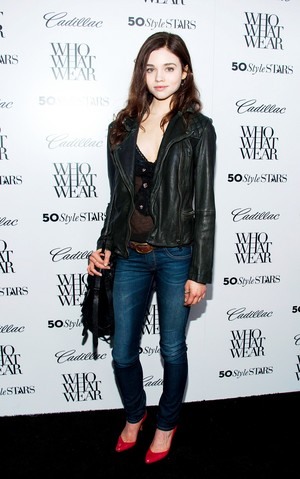 India Eisley at Cadillac's 50 Most Fashionable Women Of 2013