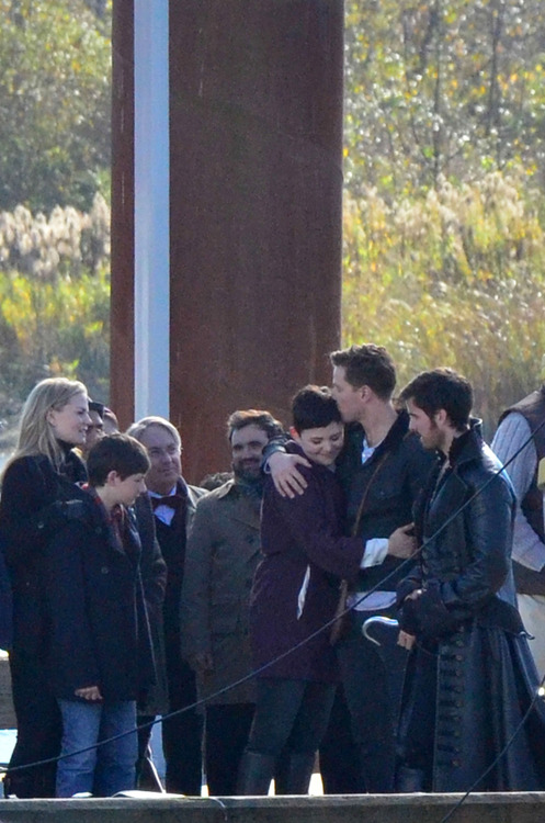 Set of 'OUAT' in Richmond, October 28, 2013