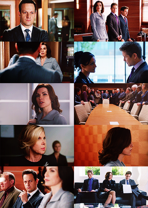 the good wife 5x05 / hitting the fan