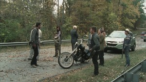 Carol Screencap, '2x13: Beside the Dying Fire'